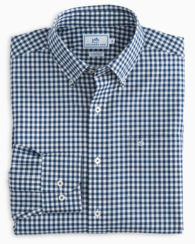 Classic Gingham Sport Shirt | Southern Tide
