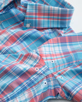 Bellevue Plaid Intercoastal Performance Shirt | Southern Tide