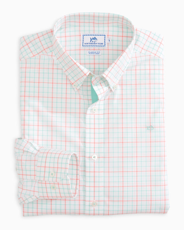 Image of Salt Cay Tattersall Sportshirt