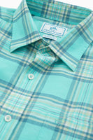 Cockleshell Bay Plaid Short Sleeve Sport Shirt | Southern Tide