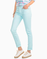 Light Blue Stretch Skinny Jeans | Southern Tide