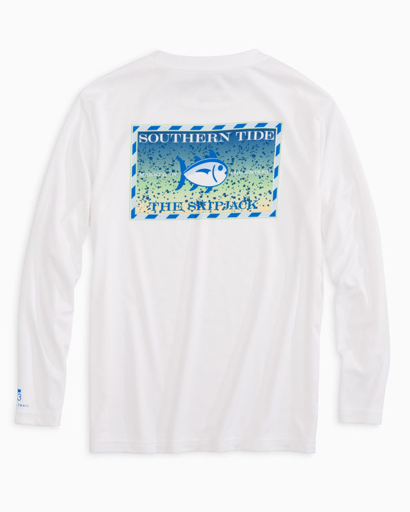Image of Kids Original Skipjack Mahi Mahi Long Sleeve Performance T-shirt