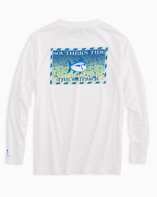 Kids Original Skipjack Mahi Mahi Long Sleeve Performance T-shirt | Southern Tide