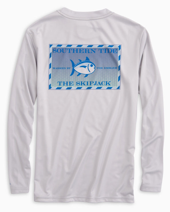 Image of Kids Original Skipjack Tarpon Long Sleeve Performance T-shirt