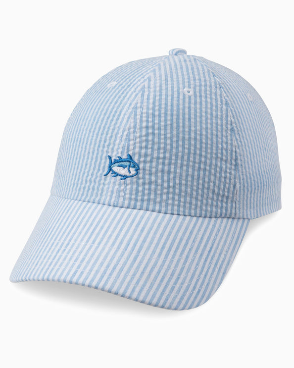Image of Seersucker Skipjack Hat