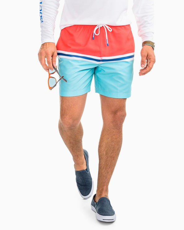 Image of Canouan Colorblock Swim Trunk