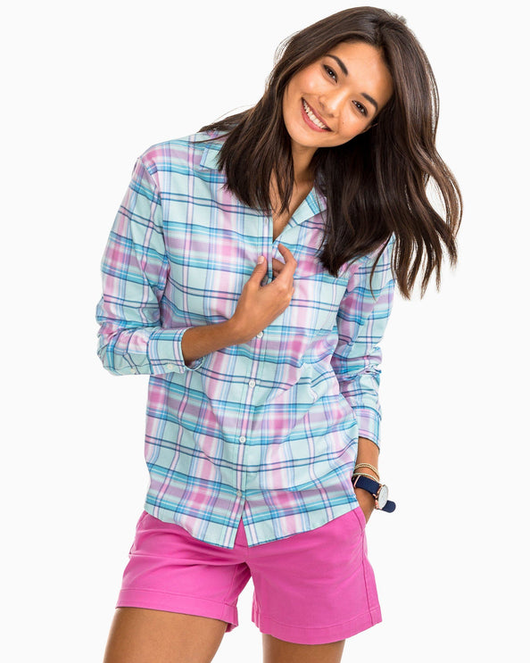 Image of Stony Bay Plaid Hampton Shirt