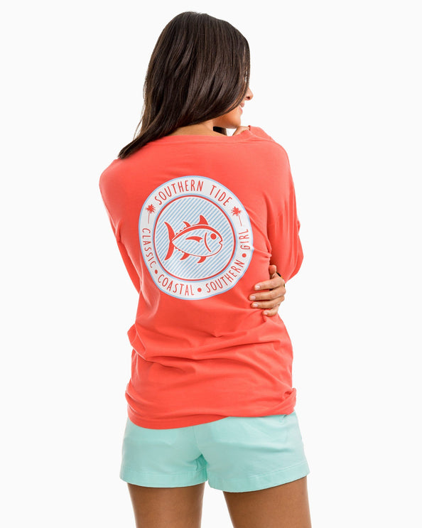 Image of Seersucker Skipjack Long Sleeve T-shirt