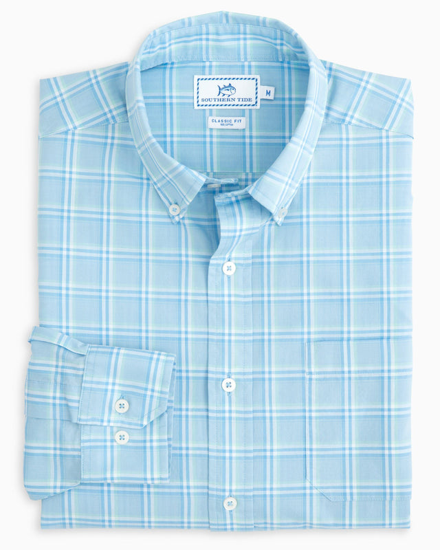 Roadstead Plaid Sport Shirt | Southern Tide