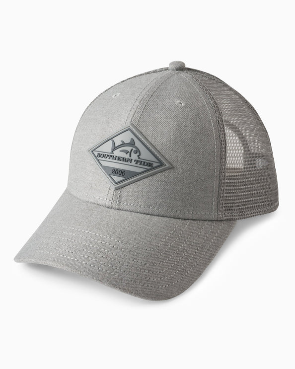 Image of Tonal Heather Patch Trucker Hat