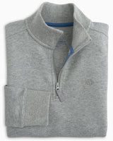 Boys' Heathered Skipjack 1/4 Zip Pullover | Southern Tide
