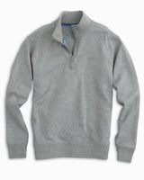Boys' Heathered Skipjack Quarter Zip Pullover | Southern Tide