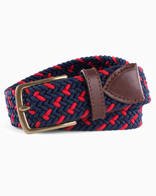 Braided Elastic Specked Web Belt | Southern Tide