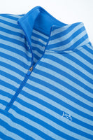 Striped Performance 1/4 Zip Pullover | Southern Tide