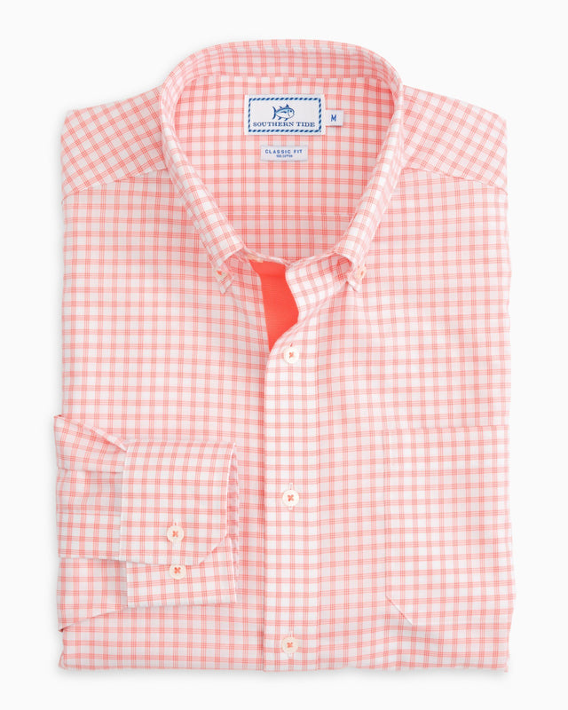 Live Oak Check Sport Shirt | Southern Tide