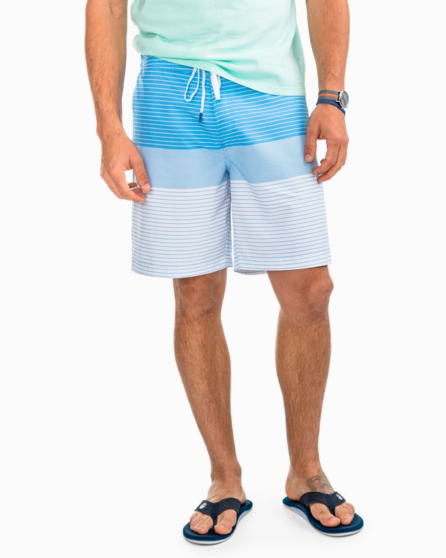 Varigated Stripe Water Short | Southern Tide