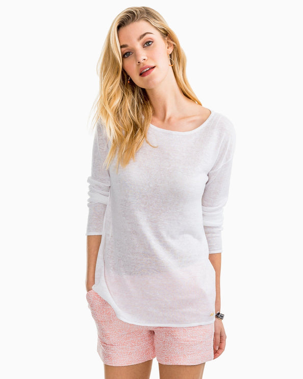 Image of Castaway Linen Sweater