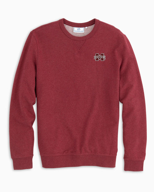 Mississippi State Upper Deck Pullover Sweater | Southern Tide