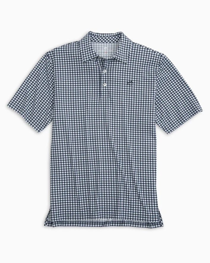 Driver Gingham Performance Polo Shirt