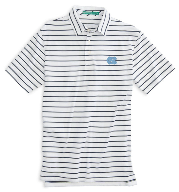 Image of Gameday Driver Stripe Polo - University of North Carolina at Chapel Hill
