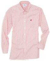 Gameday Tattersall Sport Shirt - Southern Methodist University