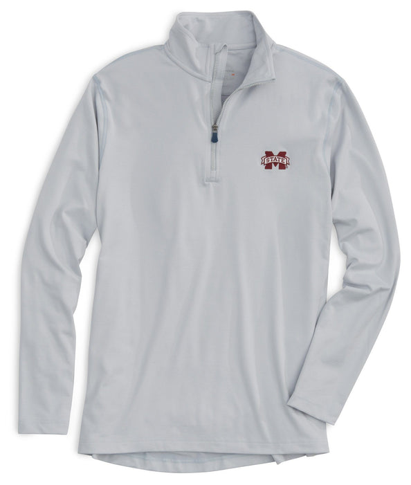 Image of Gameday Skipjack Performance 1/4 Zip Pullover - Mississippi State University