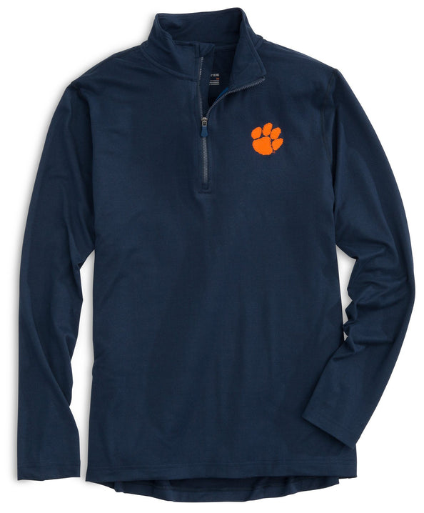 Image of Lightweight Gameday Skipjack 1/4 Zip Pullover - Clemson University
