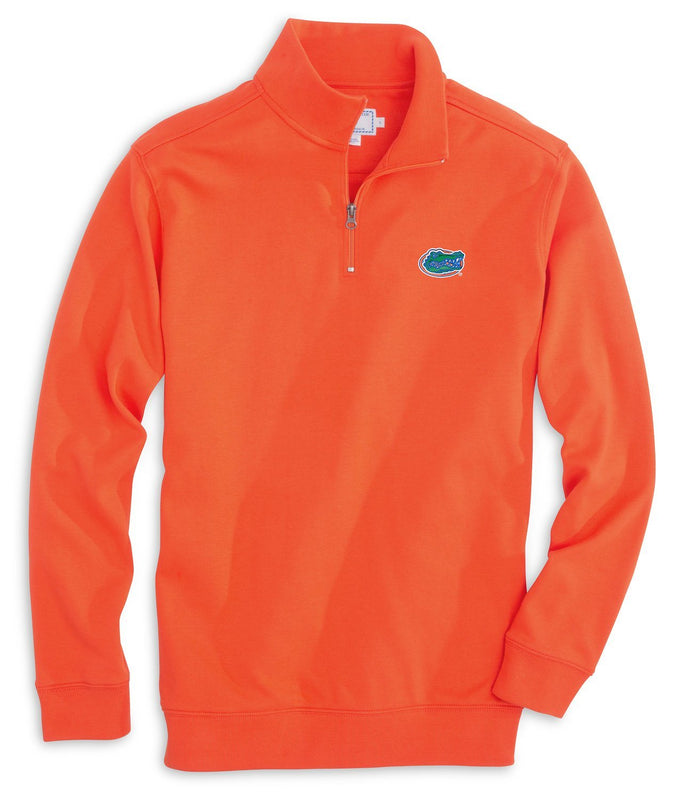 Florida Gators Cotton Quarter Zip Pullover | Southern Tide