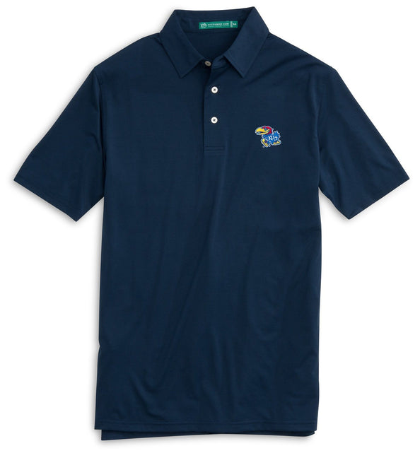 Image of Gameday Driver Polo - University of Kansas