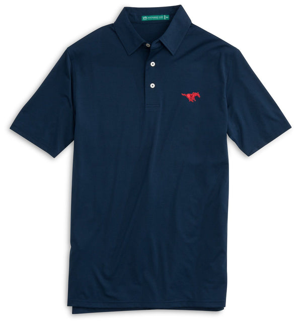SMU Mustangs Polo Shirt