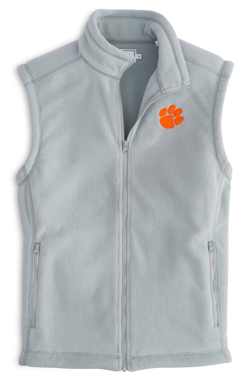 Image of Gameday Fleece Vest - Clemson University