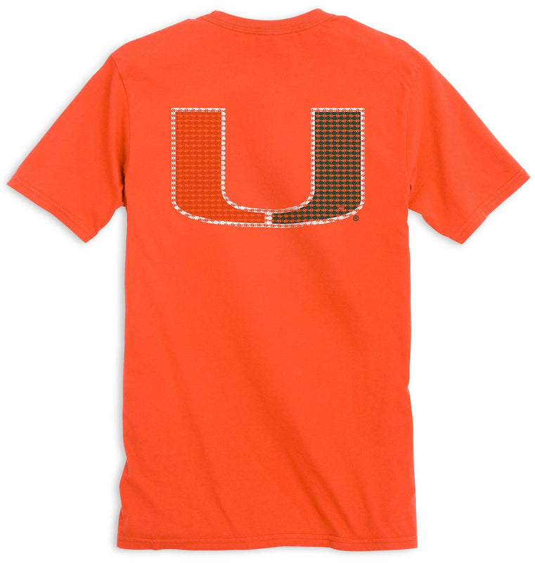 Miami Hurricanes Skipjack Short Sleeve T-Shirt | Southern Tide