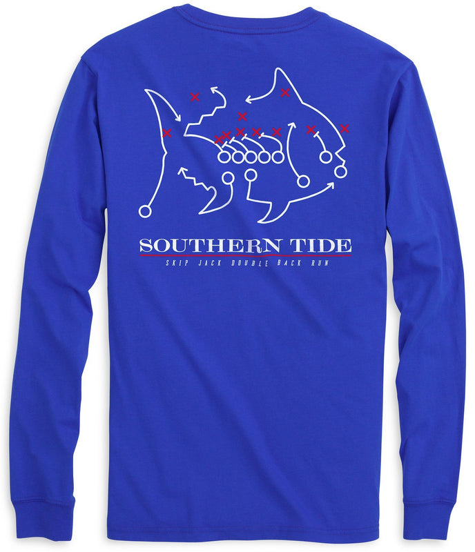 Skipjack Play Long Sleeve T-shirt - Southern Methodist University | Southern Tide