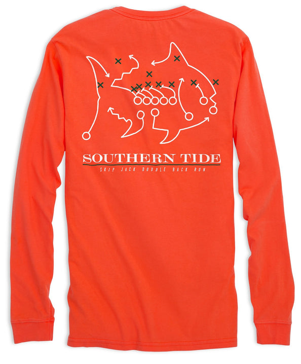 Miami Hurricanes Skipjack Long Sleeve T-Shirt