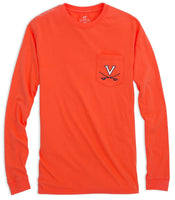 Skipjack Play Long Sleeve T-shirt - University of Virginia | Southern Tide