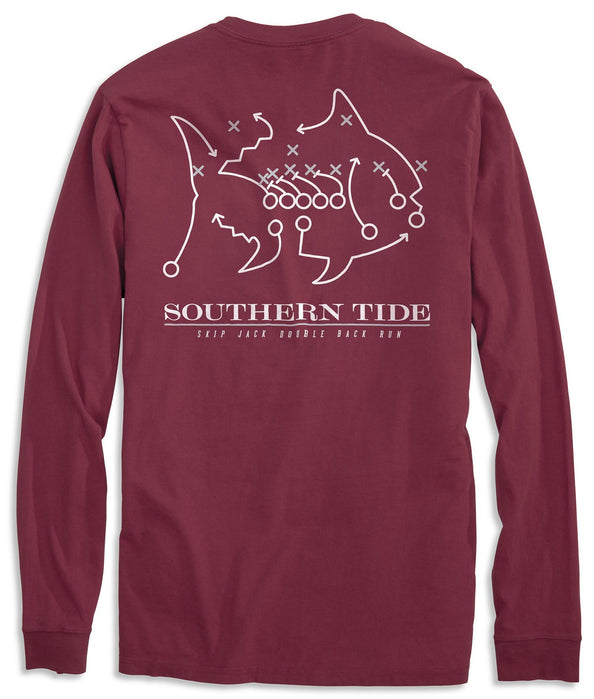 Image of Skipjack Play Long Sleeve T-shirt - Mississippi State University