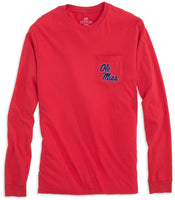 Skipjack Play Long Sleeve T-shirt - University of Mississippi | Southern Tide