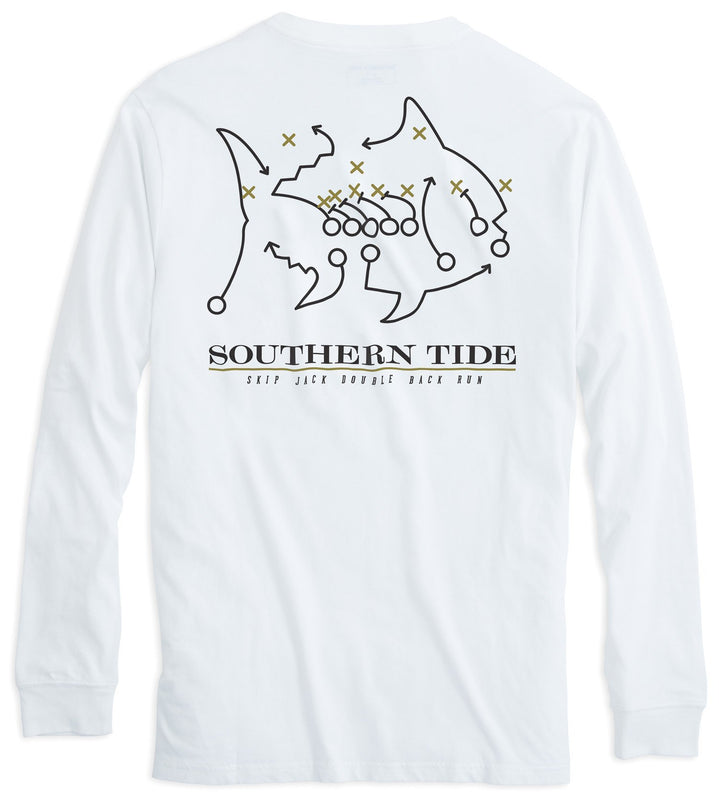 Skipjack Play Long Sleeve T-shirt - Wake Forest University | Southern Tide