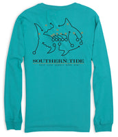 Coastal Carolina Skipjack Long Sleeve T-Shirt | Southern Tide