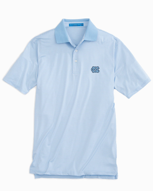 Image of Gameday Feeder Stripe Polo - University of North Carolina at Chapel Hill