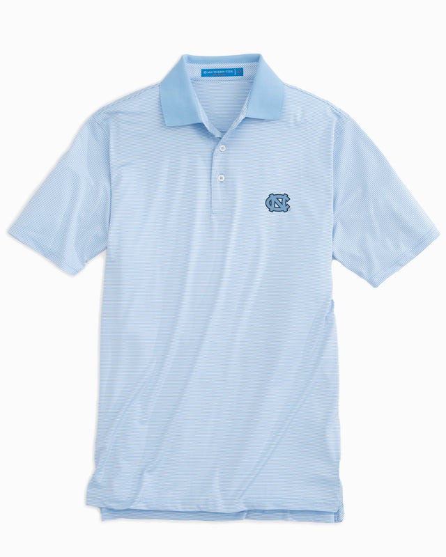 Gameday Feeder Stripe Polo - University of North Carolina at Chapel Hill