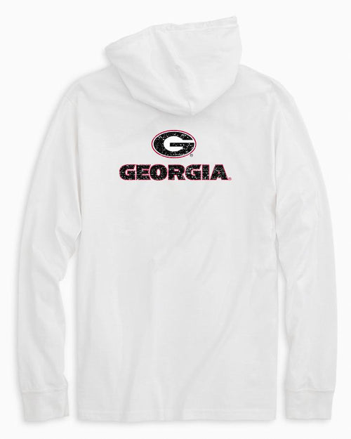 Georgia Bulldogs Long Sleeve Hoodie T-Shirt | Southern Tide