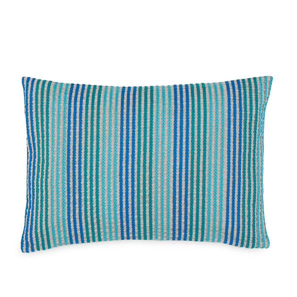 Stowaway Embroidered Decorative Pillow