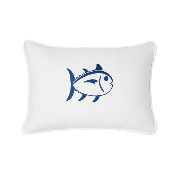 Image of Embroidered Skipjack 12x18 Breakfast Pillow