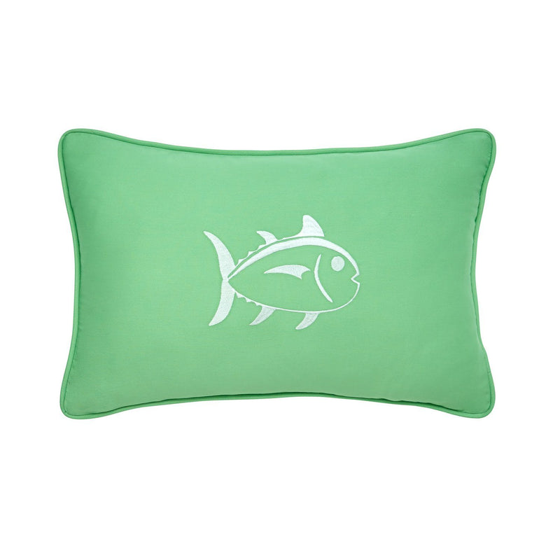 Embroidered Skipjack 12x18 Breakfast Pillow | Southern Tide