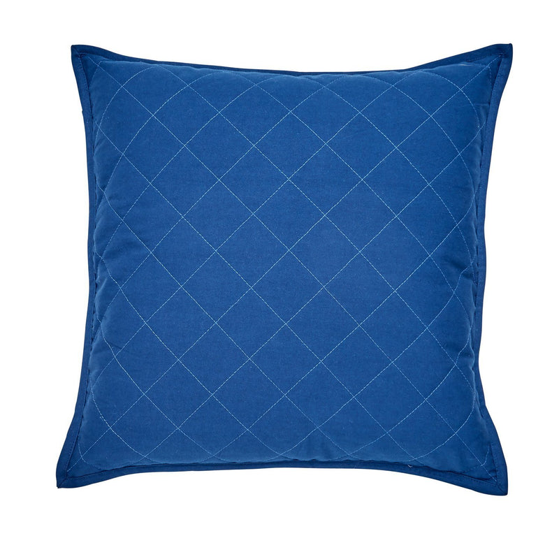 "Yacht Club 18"" Quilted Decorative Pillow"