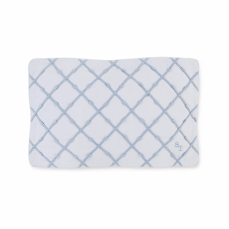 Sea Breeze Twill Tape Decorative Pillow | Southern Tide
