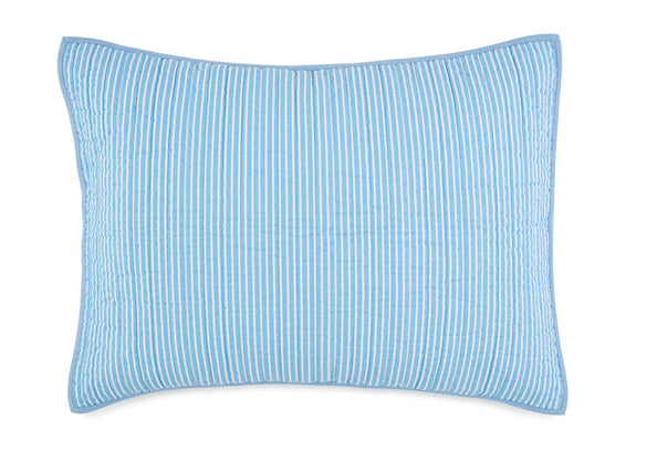 Image of Sail Stripe Quilted Sham
