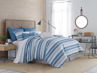 Skipper Stripe Comforter Set | Southern Tide