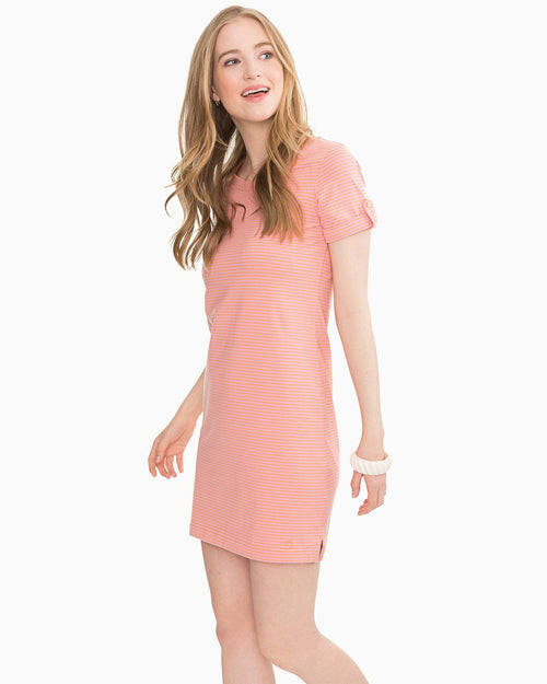 Abigail Striped T-Shirt Dress | Southern Tide